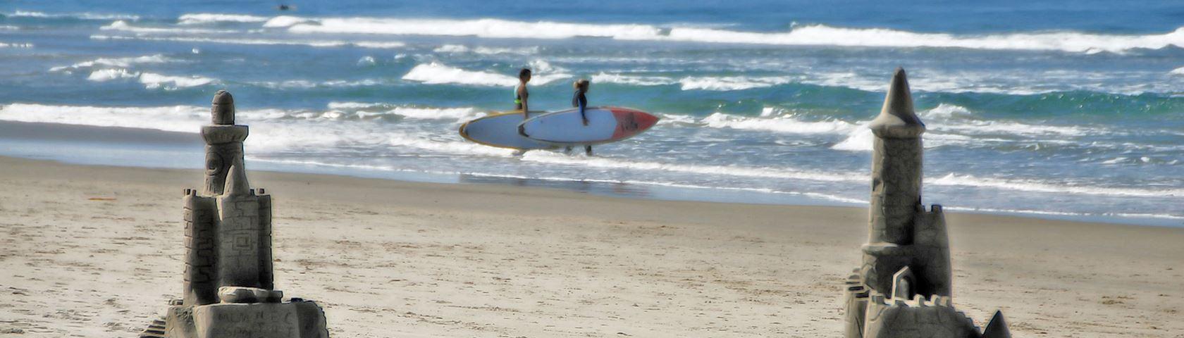 Sand Castle Surfing 2