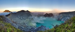 Kawah Ijen Crater on Java Island