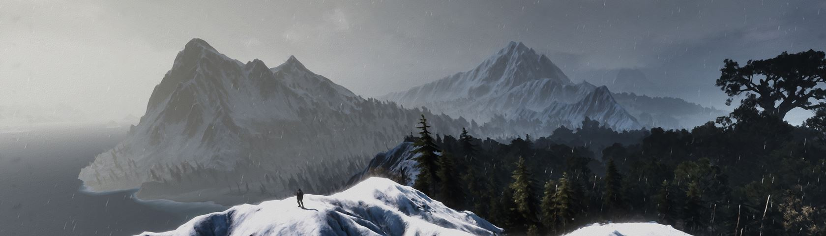 Witcher 3 - Mountain Tops