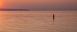 Wading for Sunset