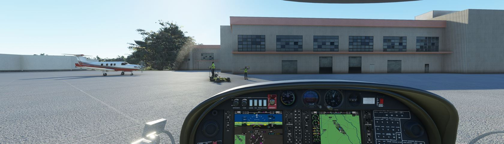 FS2020 Airport Parking