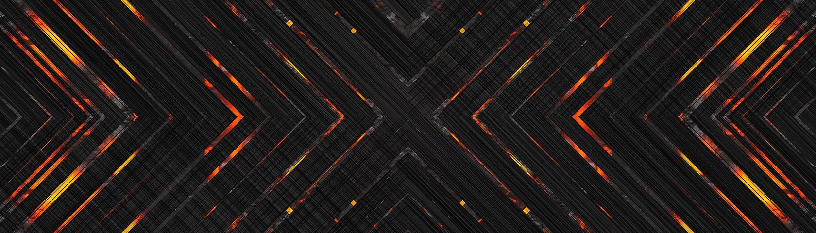 Black Lava Arrows 2