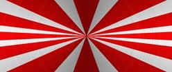 Japanese Rising Sun Inspired Wallpaper