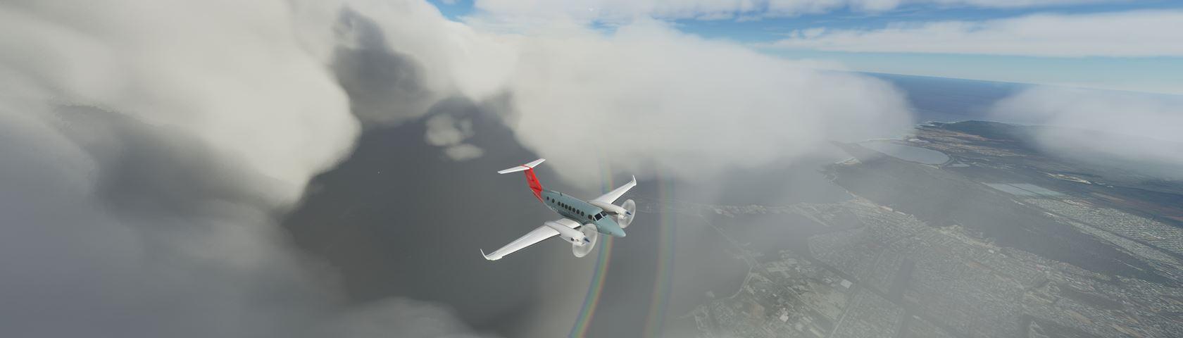 FS2020 Over Jamaica