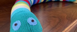 Knitted Snake