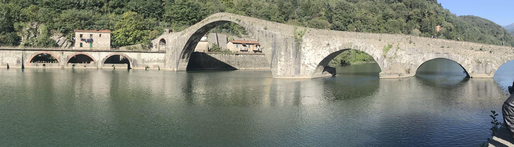 Bridge Over Serchio River, Tuscany