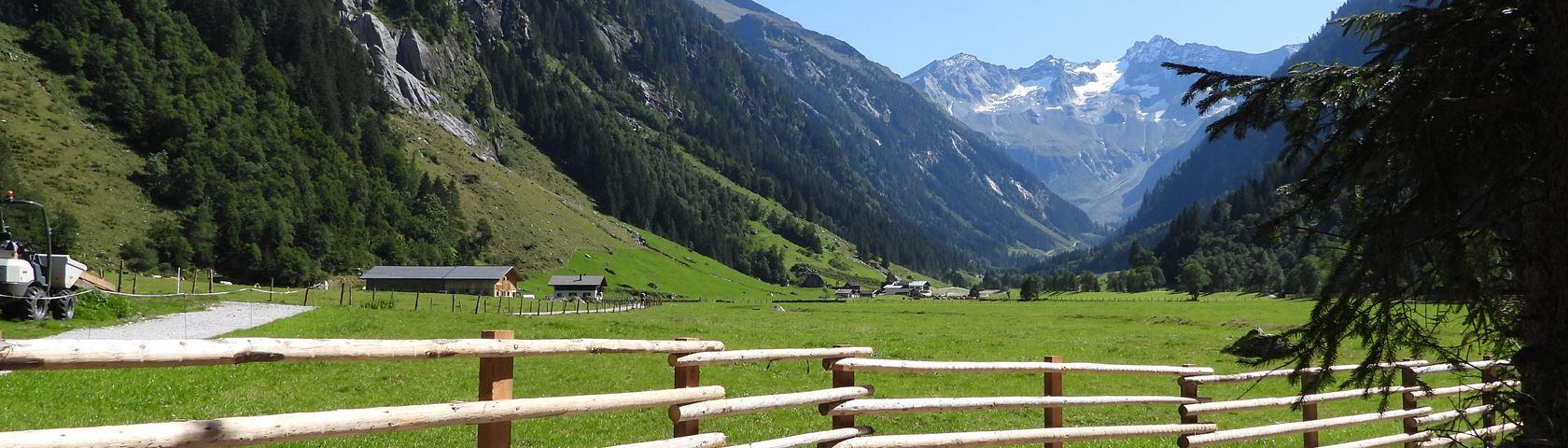 Surrounding Stilluptal in Zillertal
