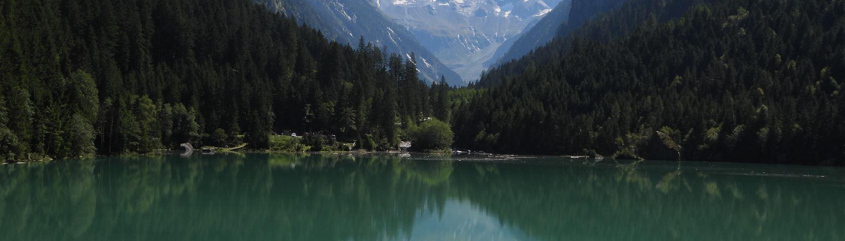 Stausee Stilluptal in Austria