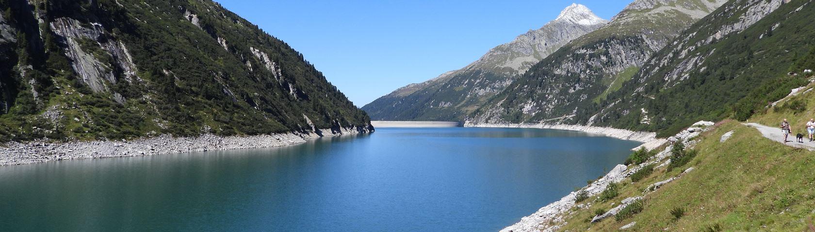 Stausee Bei Klein Tibet in Austria