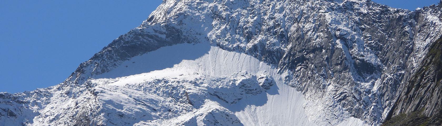 Mountain in Austria Zillertal