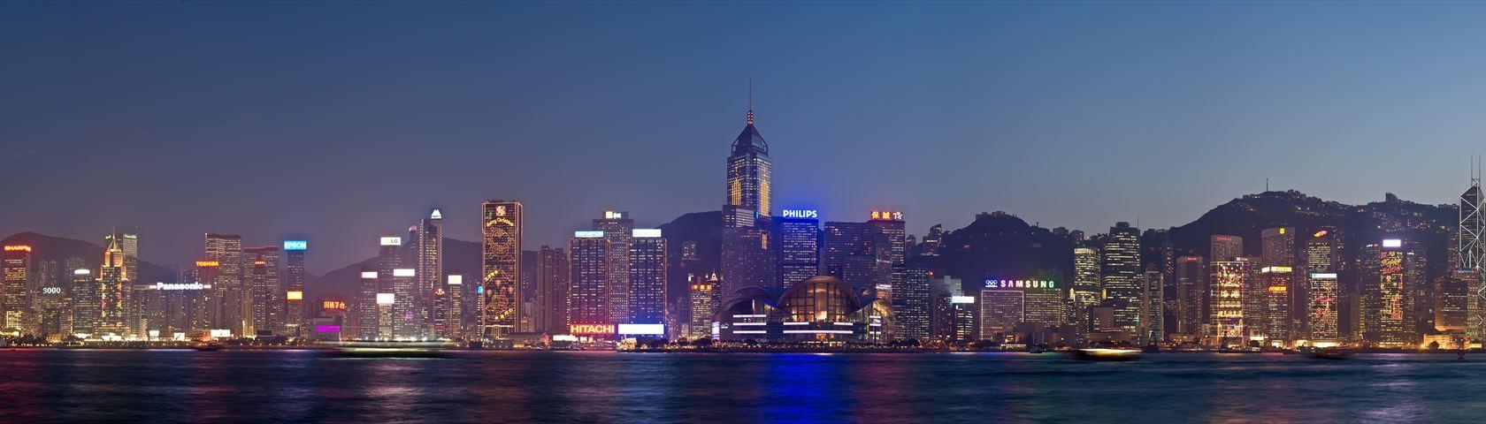 Panorama of Hong Kong