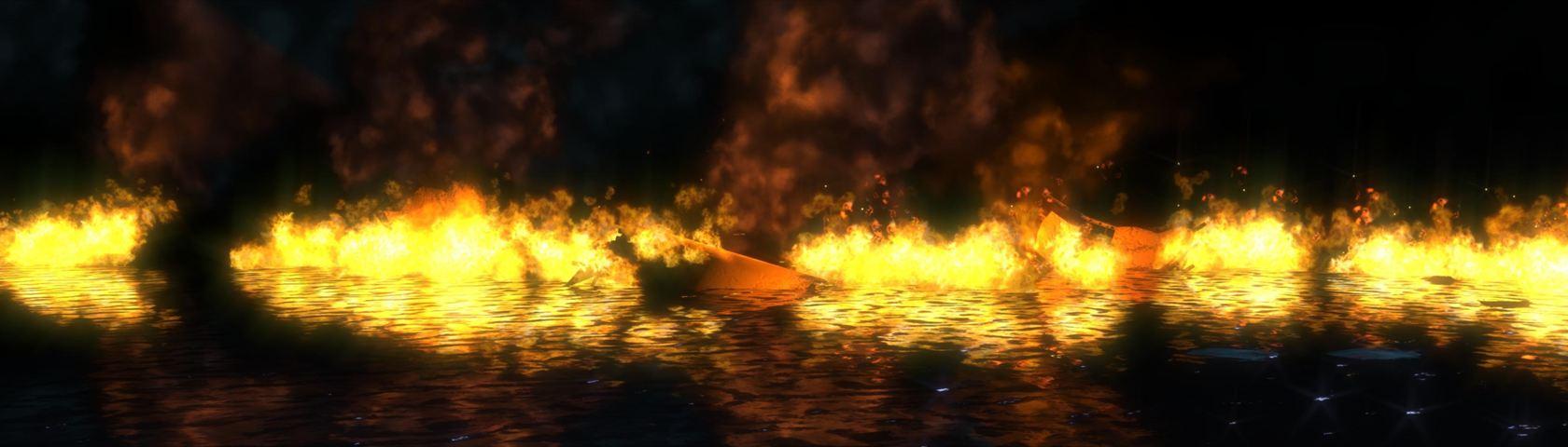 Bioshock: Ocean on Fire