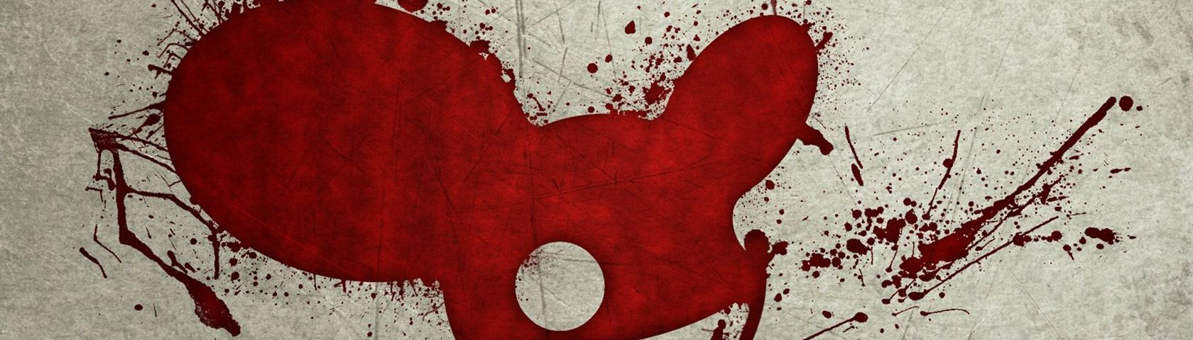 Red Deadmau5 Splatter