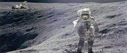 Charlie Duke - Moon Crater