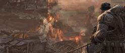 Gears of War 3: Over the Flames