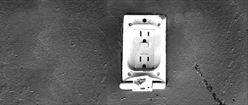 Lonely Power Socket