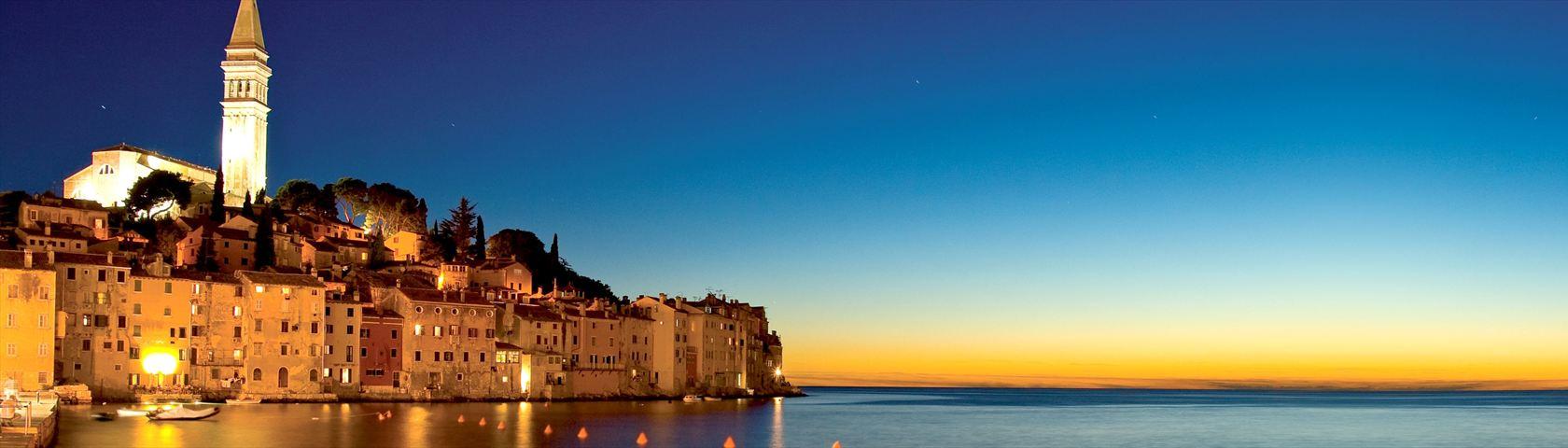 Croatia in the Night