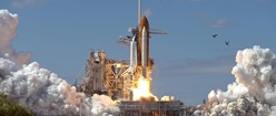 Space Shuttle at Launch