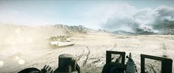Battlefield 3: Tank Driving