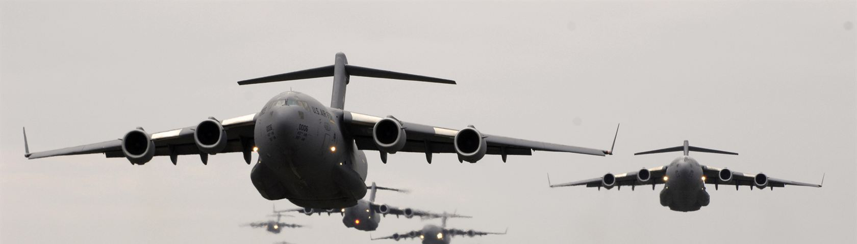 C-17 in Flight