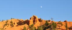 Moon over Utah
