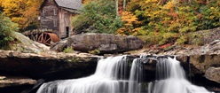 Waterfall with Mill