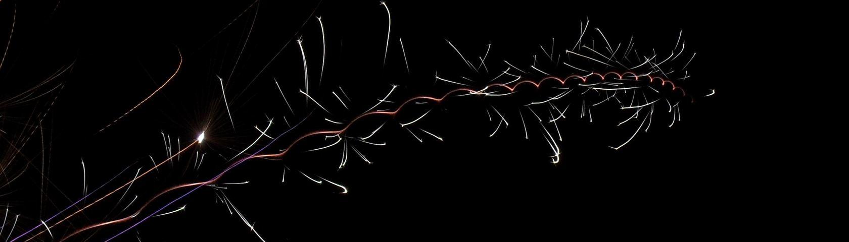 Spiral Fireworks