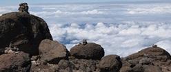 Sentinel Inukshuks on Kilimanjaro