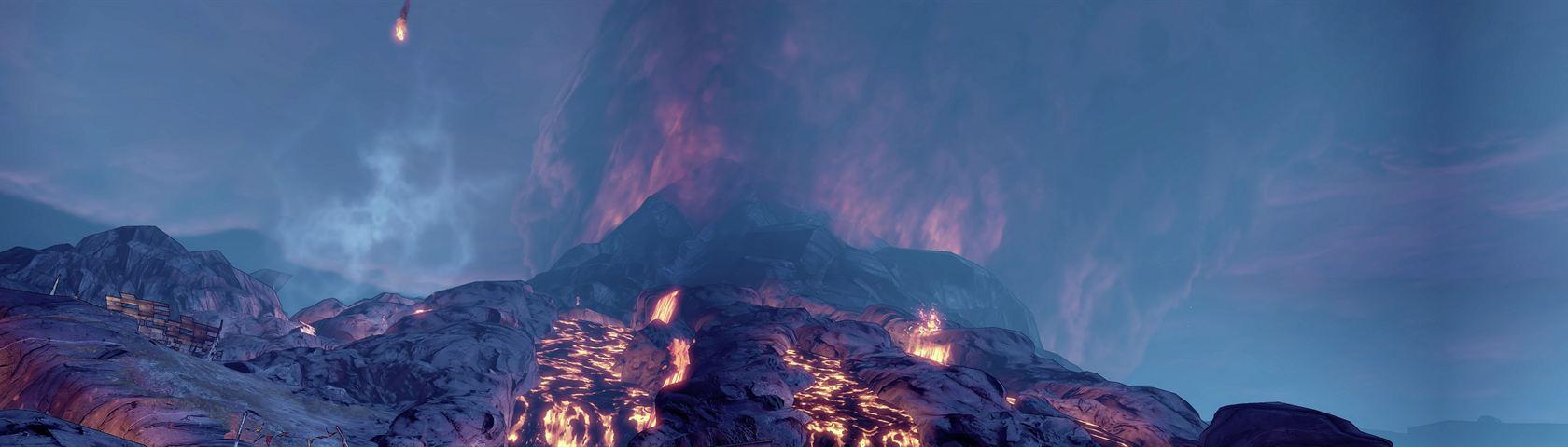 Borderlands 2 Volcano