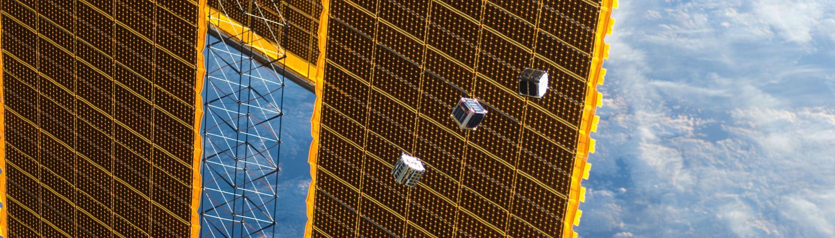 First Cubesat Deployment