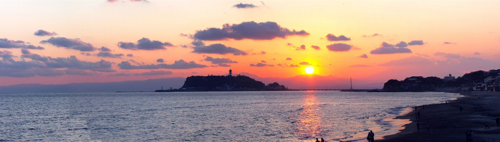 Kamakura Beach Panorama