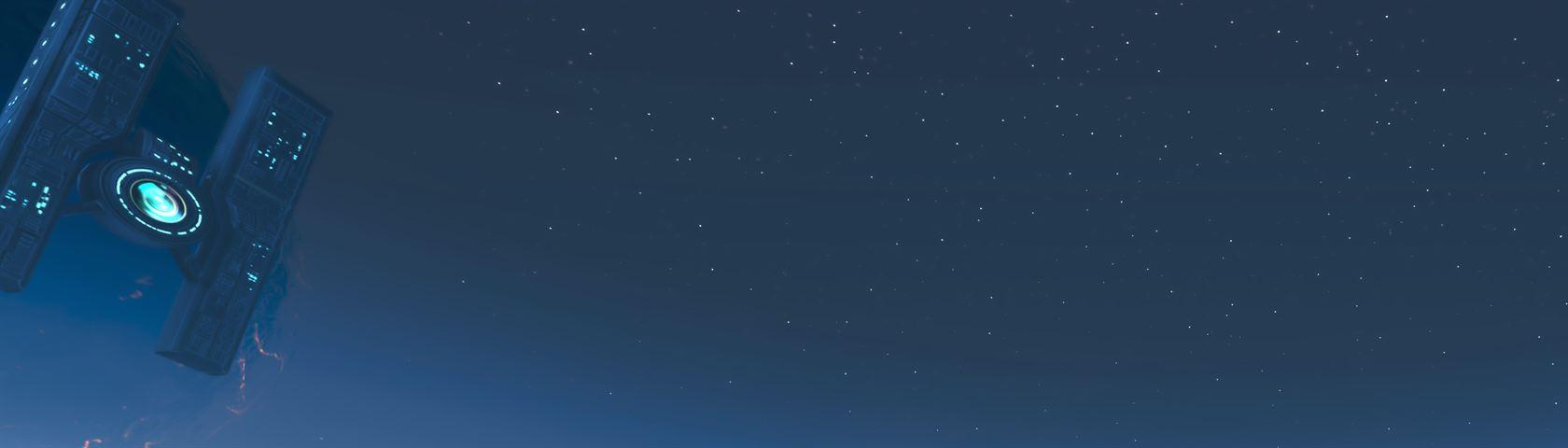 Borderlands 2 - Hyperion Station at Night