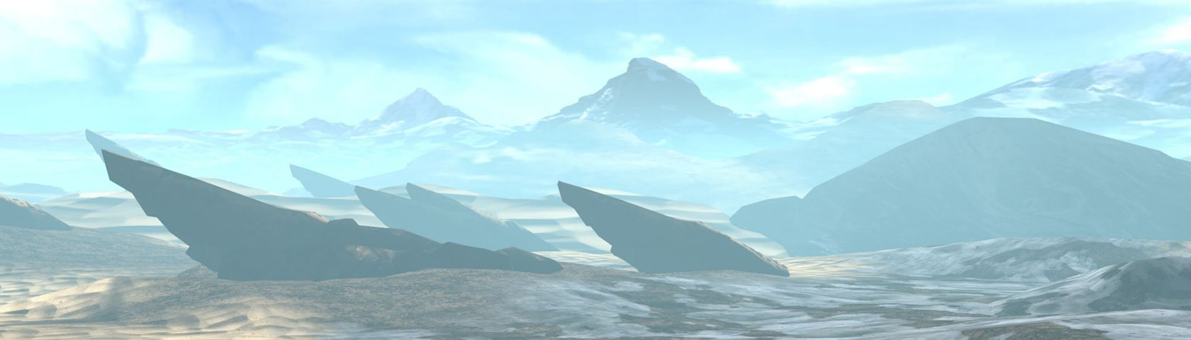 The Dust Morning Landscape