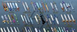 Evolution of Link's Sword