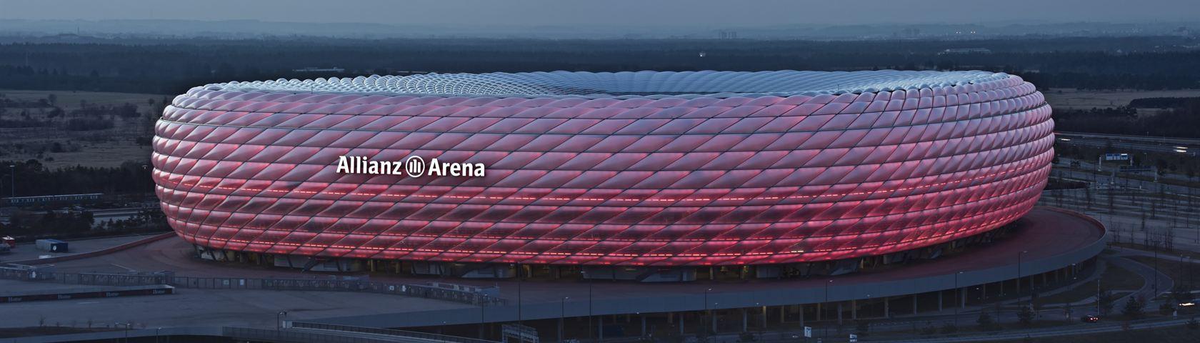 Allianz Arena Twilight