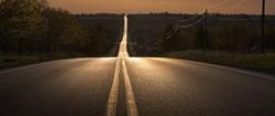 Evening Road