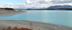The way to Tekapo