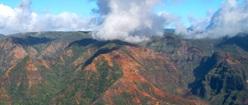 Kauai Mountain Range