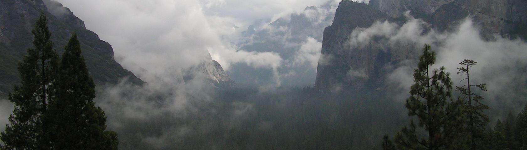Clouds over Yosemite