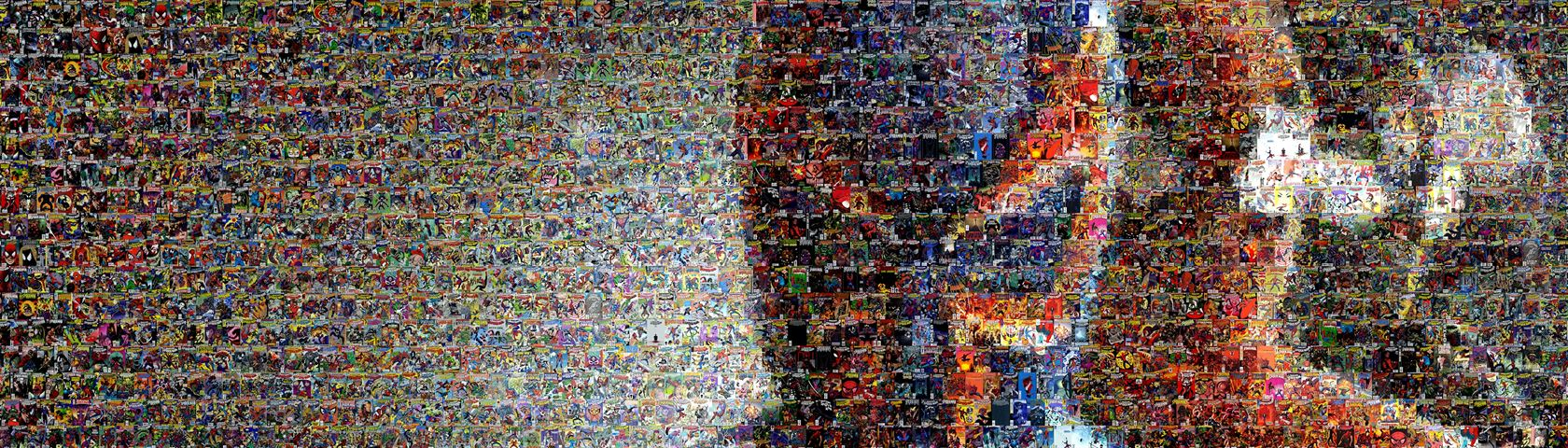 Spider-Man Mosaic