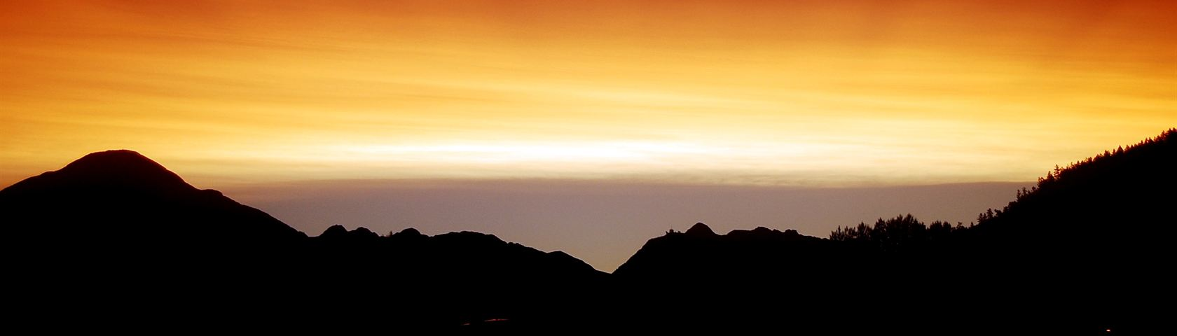 Mount Curie Sunset