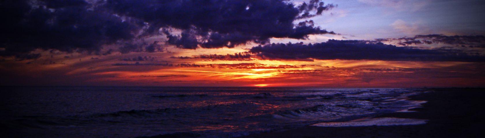 Sunset over Florida