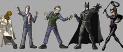 Batman and Villains