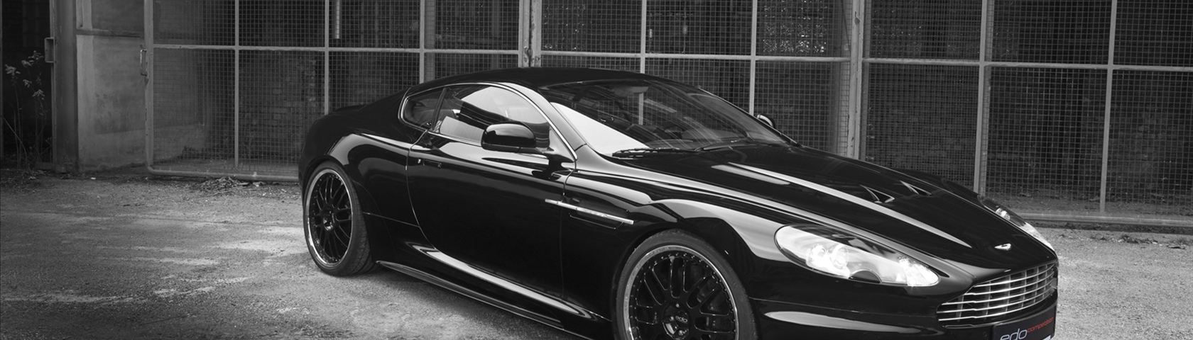 Black EDO Aston Martin
