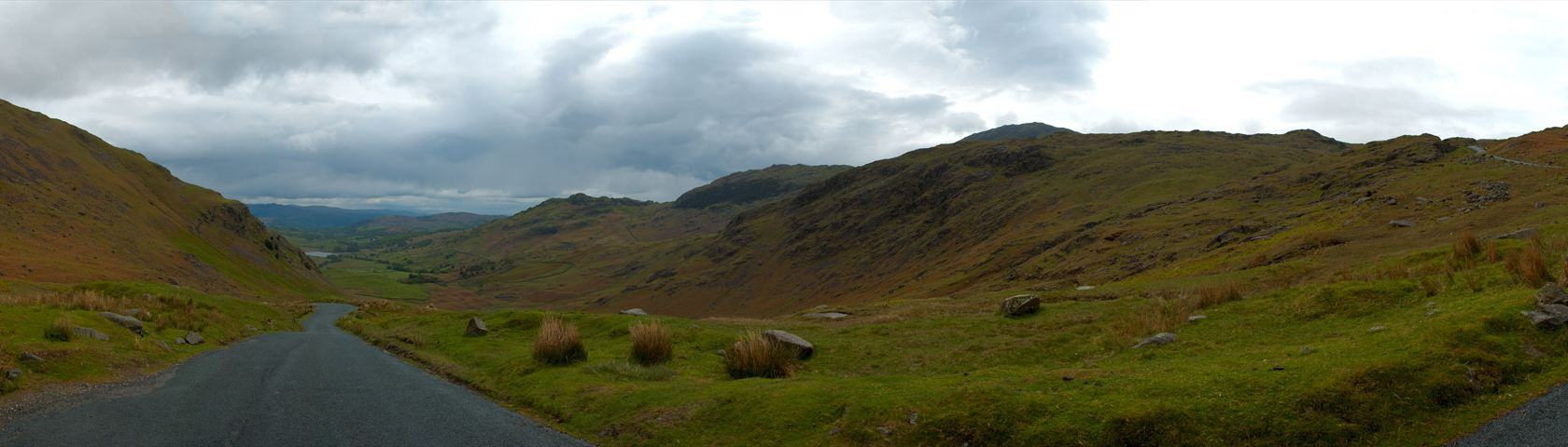 Mountain Pass in the Lake District, England