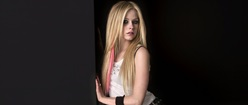 Avril Lavigne Against Wall