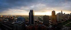 Windy City at Sunrise