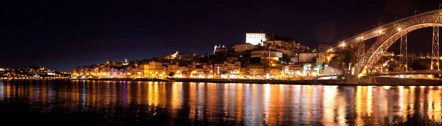 Porto City in night