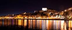 Porto City in night