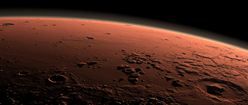 Mars at Sunrise